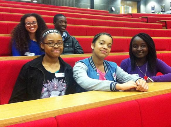 LSE lecture theatre