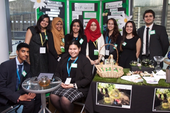 2.Students from Kingsbury High School_Co.Evalesco_BestTradeStand & Overall Winner (1)