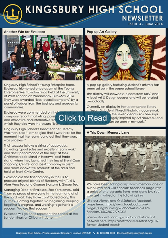 khs_newsletter_issue_3_june_2014