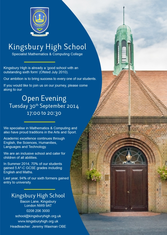 year_6_open_evening_advert