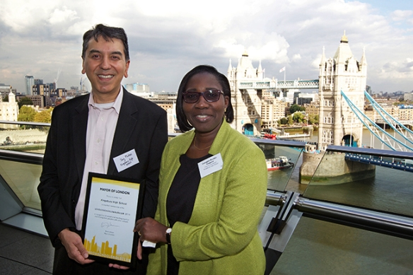 London Schools' Gold Club Awards Ceremony, City Hall - 2Oct14