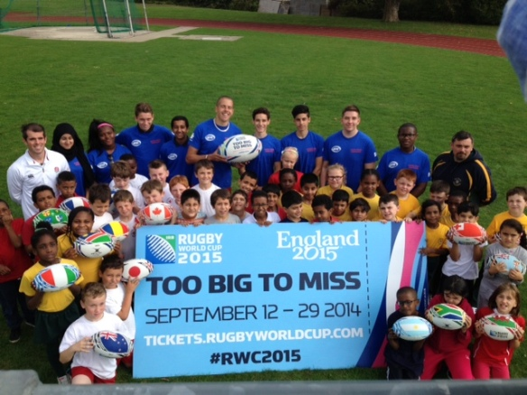 Countdown to the Rugby World Cup 2015