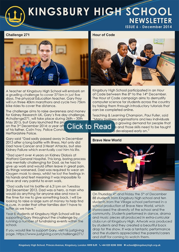 khs_newsletter_issue_6_december_2014