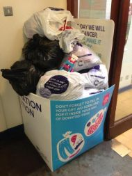 donation station overflow