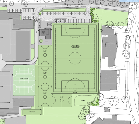KHS - proposed new facilities - 22 March 2016