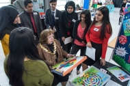 NEOS were able to show off their game to the Mayor of Brent, Councillor Lesley Jones