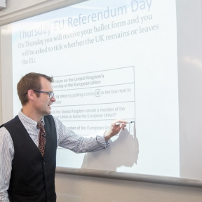 Kingsbury High School EU Referendum-1